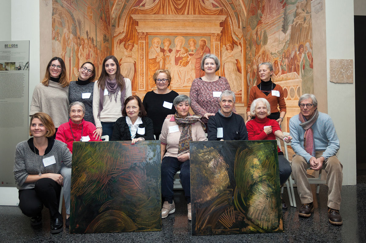 Alzheimer e musei: al BeGo anziani protagonisti di Storie ad Arte